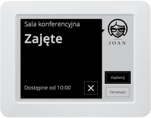 System rezerwacji VISONECT Joan Meeting Room Assistant - Grey