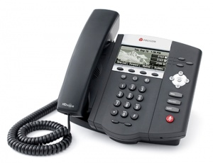 Telefon IP Polycom SoundPoint IP 450