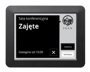 System rezerwacji VISONECT Joan Meeting Room Assistant - Black